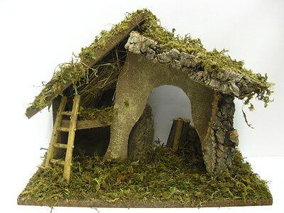 Nativity Scene Empty Stable Manger Presepio Pesebre Scene Establo