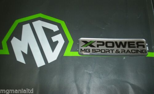 MGZR MG ZR XPower MG Sport & Racing Badge