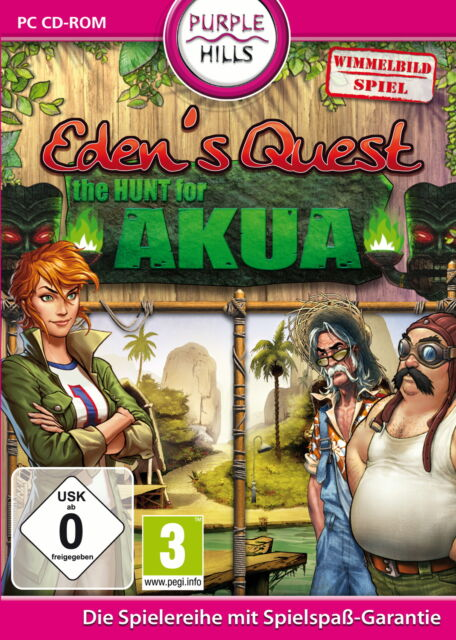 Eden's Quest - The Hunt For Akua (PC, 2010, DVD-Box)