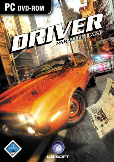 Driver: Parallel Lines (PC, 2007, DVD-Box)