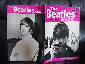ORIGINAL-NOVEMBER-1965-The-Beatles-Monthly-Book-No-28-BRILLIANT