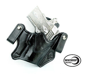 Kimber Ultra Crimson Carry II IWB Holster Black | eBay