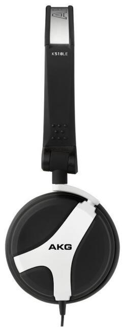 AKG K518LE DJ Headphones (White)