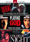 D.O.A./Playing God/Color of Night (DVD, 2012, 2-Disc Set)
