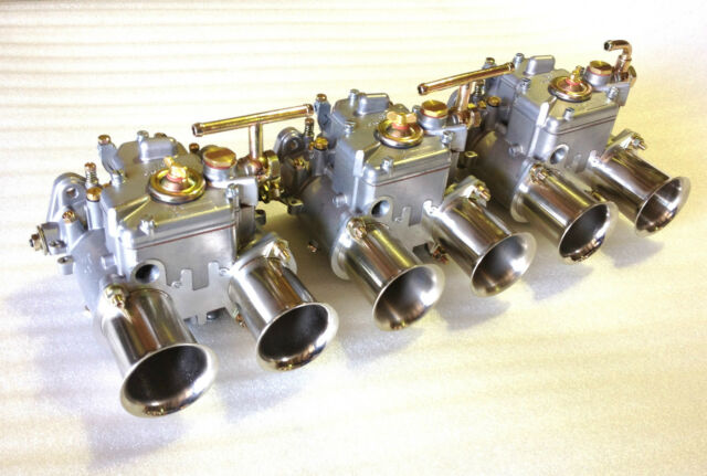 TRIPLE 45 DCOE CARBURETTOR WEBER TYPE CARB NEW CARBY HOLDEN 202 186 TORANA 6CYL
