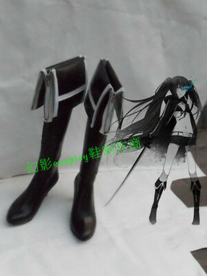 Vocaloid 2 Miku Black Rock Shooter cosplay costume shoes