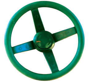 Playground-Steering-Wheel-GREEN-Cubby-House-Accessories-Equipment-Cubbies-NEW