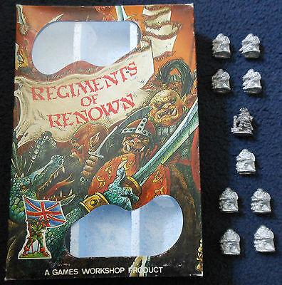 1984 Bugmans Dwarf Rangers No1 Regiments of Renown RR1 Bugman's Brewer Warhammer