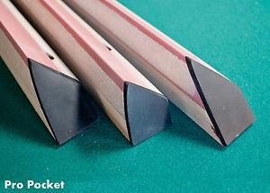 pro pocket k55 rails for valley pool table diamond ebay rh ebay co uk pool table rails hard pool table rails installation
