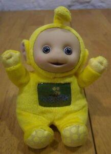"Teletubbies YELLOW LAA LAA 7"" Plush Stuffed Animal"