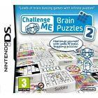 Challenge Me: Brain Puzzles 2 (Nintendo DS, 2011)