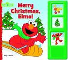 Sesame Street : Merry Christmas, Elmo! (Book and Plush) (2011, Board Book / Soft Toy)