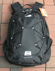 THE-NORTH-FACE-JESTER-BACKPACK-DAYPACK-MODEL-A93C-TNF-BLACK-NEW