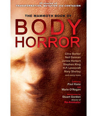 Mammoth Book of Body Horror (Mammoth Books)-ExLibrary
