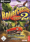 RollerCoaster Tycoon 2: Time Twister (PC, 2003, DVD-Box)