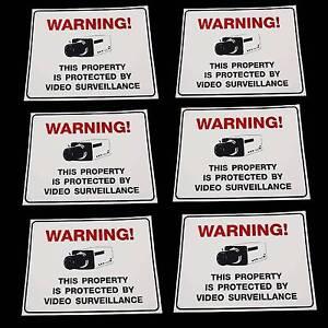 LOT-OF-CCTV-SECURITY-SURVEILLANCE-CAMERA-WARNING-SIGNS