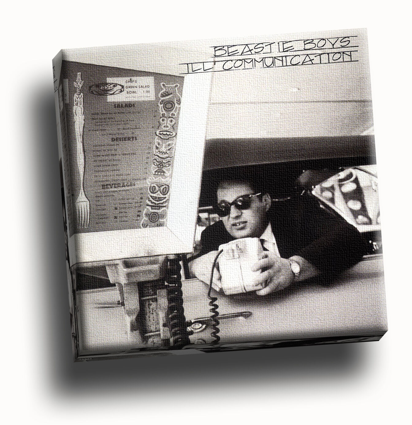 Beastie Boys - Ill Communication Giclee Canvas Album Startseite Bild Kunst
