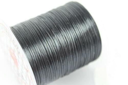 Strong Stretchy Elastic String Assorted Crystal Beading Cord Line for JewelrR ~