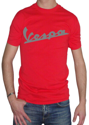 Fm10 Men/'s T-Shirt Vespa Print Silver Motorcycle Scooter Two Wheels Gift