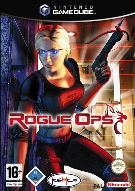 Rogue Ops - Nintendo GameCube NGC nur CD + Anleitung - gut