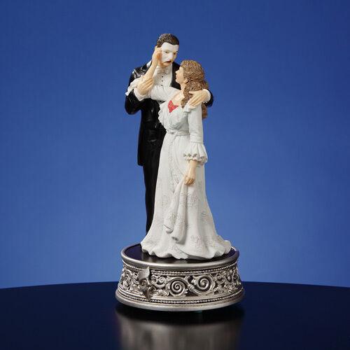 Phantom of the Opera & Christine 25th Anniversary Musical Sf Music Box Figurine