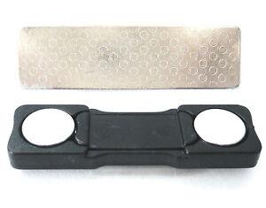 Aimant-plaque-adresse-legerement-use-Protege-vetements-incl-plaque-VPE-10
