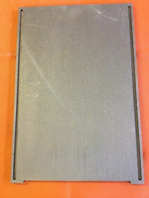 """GRAPHITE PLATE LIQUIDATION  LOT OF TWO (2)   3/8"""" THICK  x 11 5/8"""" W x 17 1/8"""" L"""
