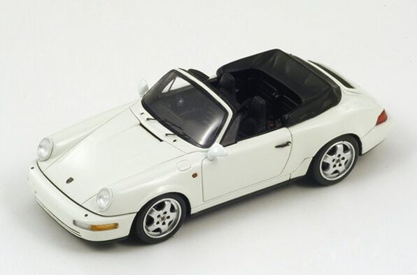 Porsche 964 Carrera 2 Cabriolet  bianca  1991  Spark 1:43 / S3434