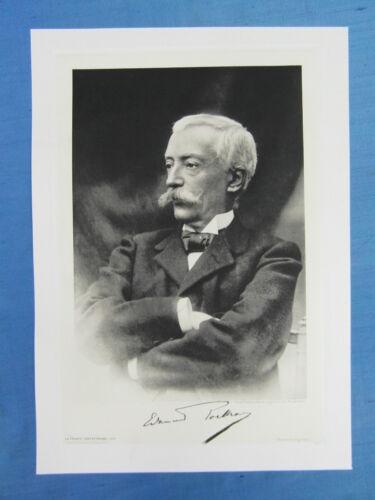 FRANCE CONTEMPORAINE DELTOUR PORTRAIT 1905 EDOUARD LOCKROY POLITIQUE
