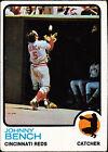 1973 Topps Johnny Bench Cincinnati Reds #380 Baseball Card