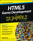 HTML5 Game Development For Dummies(R) by Andy Harris (Paperback, 2013)