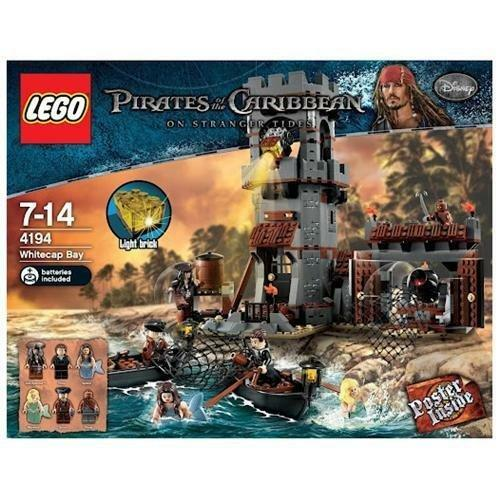 LEGO - 4194 PIRATES OF THE CARIBBEAN  WeißCAP BAY 746 pcs. From 2011 NEW NISB
