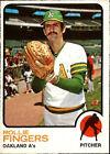 1973 Topps Rollie Fingers Oakland Athletics #84 Baseball Card