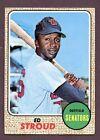 1968 Topps Ed Stroud #31 Baseball Card