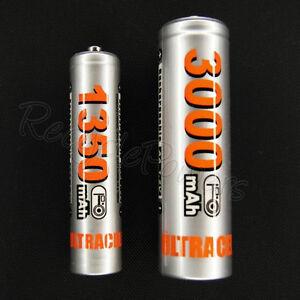 AA-AAA-2A-3A-Ni-MH-3000mAh-1350mAh-1-2V-Silver-rechargeable-battery-lot-of