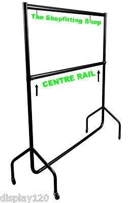 CLOTHES RAIL Accessory Centre Bar 6ft Long Creates Double Hanging Garment Rail!