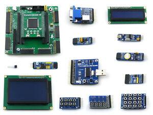 Details about XILINX XC3S250E Spartan-3E FPGA Development Board + LCD12864  + LCD1602 + 12 Kits