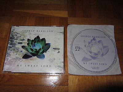 beatles GEORGE HARRISON My Sweet Lord 2002 EUROPEAN CD single