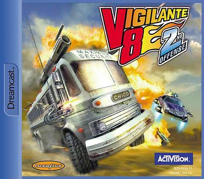 Vigilante 8: 2. Herausforderung (Sega Dreamcast, 2000)
