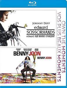 Edward-Scissorhands-Benny-Joon-Blu-ray-Disc-2012-Canadian-DISC-IS-MINT