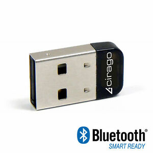 cirago bluetooth 4 0 mini usb adapter bta8000 858796051801. Black Bedroom Furniture Sets. Home Design Ideas