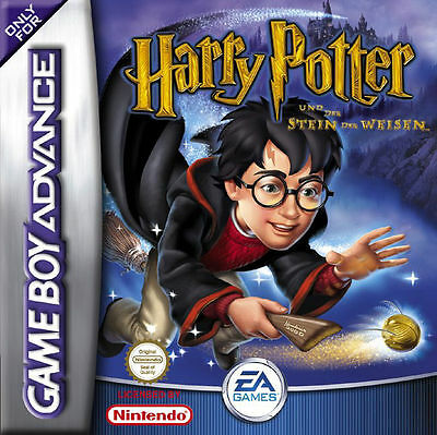 Harry Potter und der Stein der Weisen mit OVP Nintendo Game Boy Advance