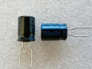 Condensateur 220uf 25v