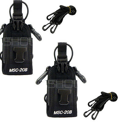 New 2pcs Multi-function Radio Case Holder for BF-888S UV-5R H777 Radio From UK