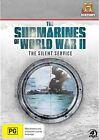 Submarines Of World War II - The Silent Service (DVD, 2012, 4-Disc Set)