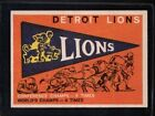 1959 Topps Lions Pennant #139 Football Card