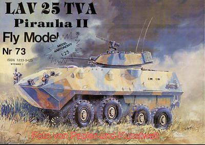 FLY Model  73 - Light Attack Vehicle LAV 25 Piranha II - 1:25