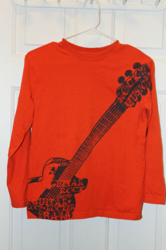Children/'s Place Boy/'s Size L Printed Graphic Long Sleeve Shirts 10//12