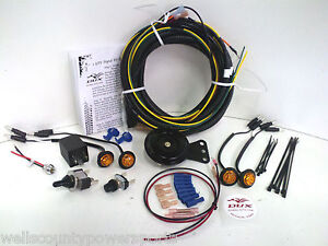 s l300 kubota rtv turn signal horn kit street legal wiring harness led kubota rtv 1100 wiring diagram at mifinder.co