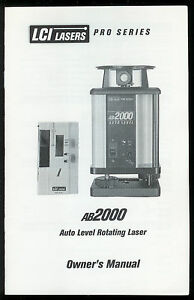 LCI-AB2000-Automatic-Interior-Rotary-Leveling-Laser-Owners-Manual